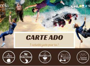 CARTE ADOS SUNELIA / CHLORO'FIL